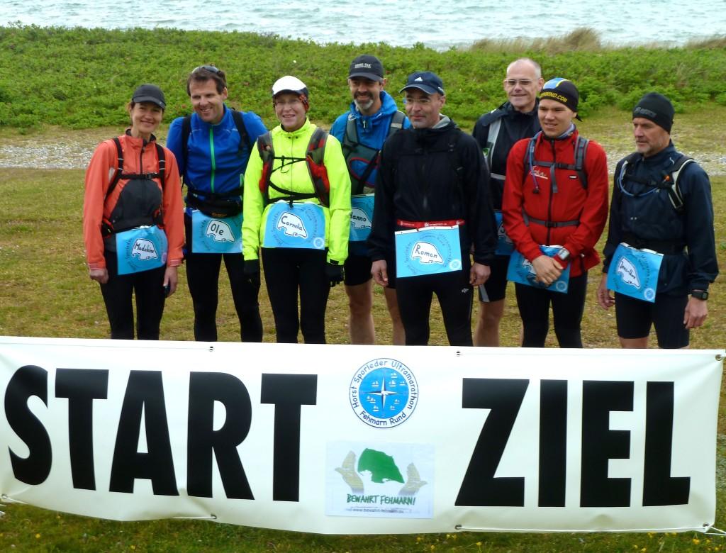 """Die Teilnehmer des """"Horst Sporleder Ultramarathons"""" im vergangenen Jahr kurz vor dem Start."""